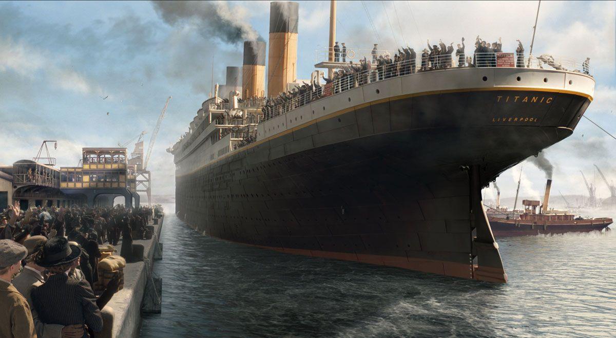 Batmaz Denilen Devasa Gemi 'Titanic' 108 Yıl Önce Bugün Battı
