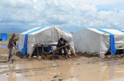 Aksaray'da Tarım İşçilerinin Çadırlarını Su Bastı